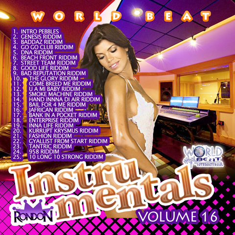 INSTRUMENTAL REGGAE VOL. 16 (DWLN ONLY)