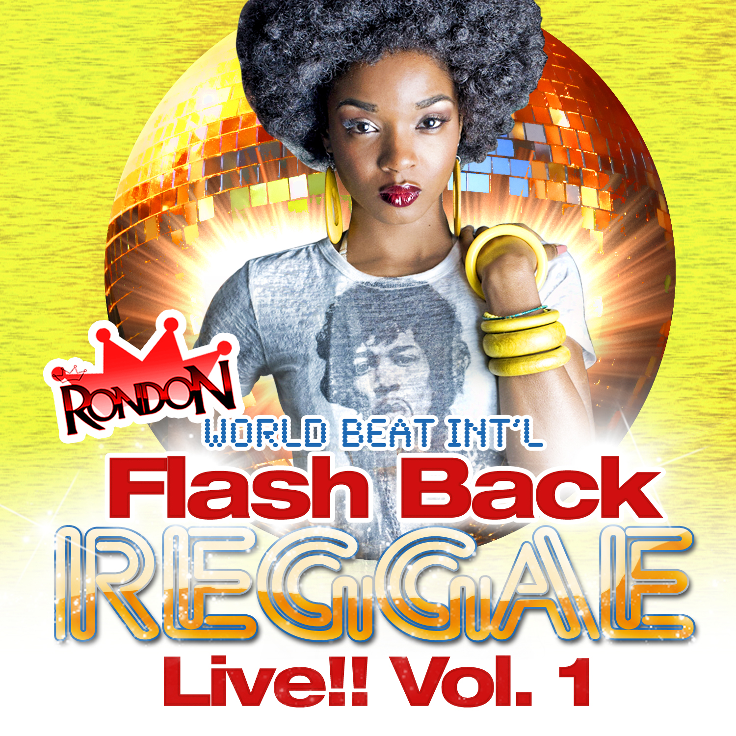 FLASH BACK REGGAE VOL. 1 LIVE !!! CD