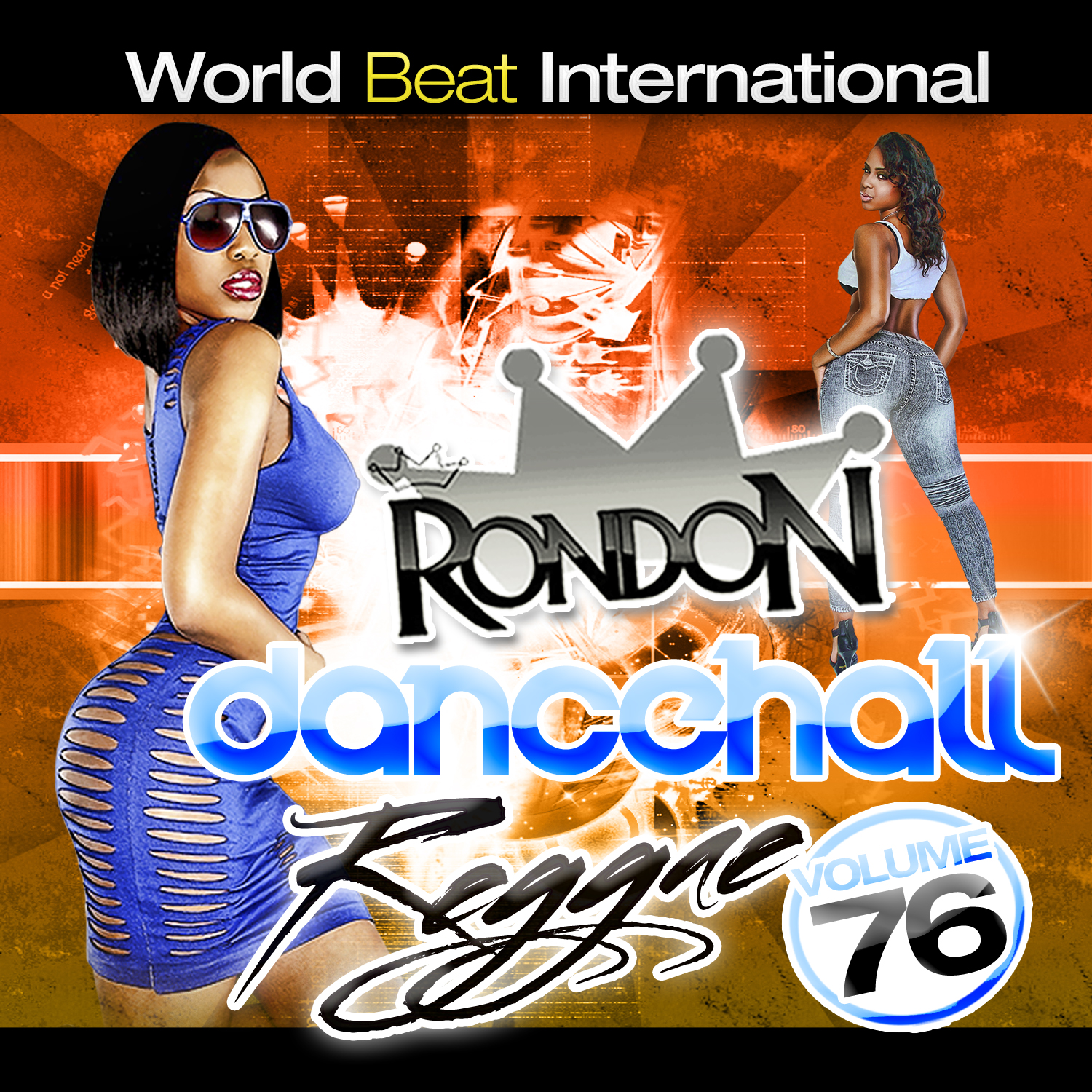 DANCEHALL REGGAE VOL. 76 CD