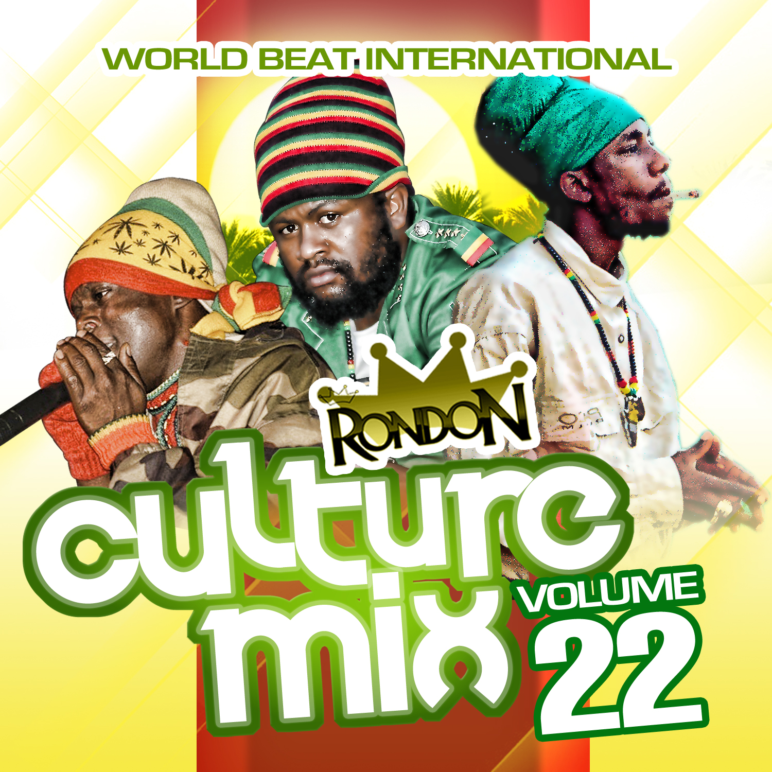 CULTURE MIX REGGAE VOL. 22 CD