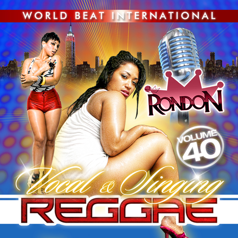 VOCAL/SINGING REGGAE VOL. 40 CD