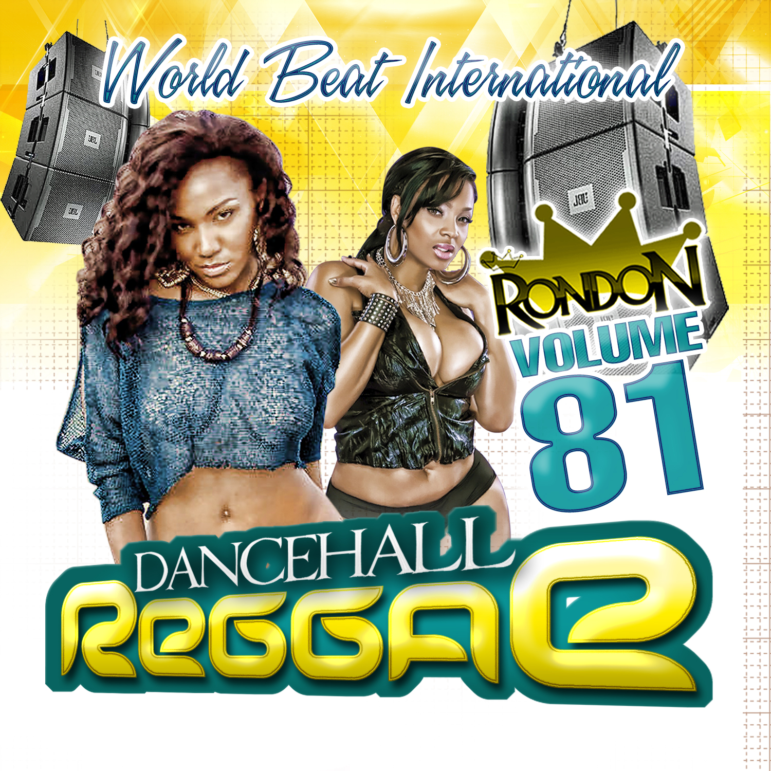 DANCEHALL REGGAE VOL. 81 CD