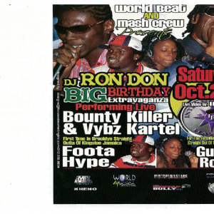FOOTA HYPE & GUNZNROZEZ DJ RON DON BIRTHDAY (DWLN ONLY)