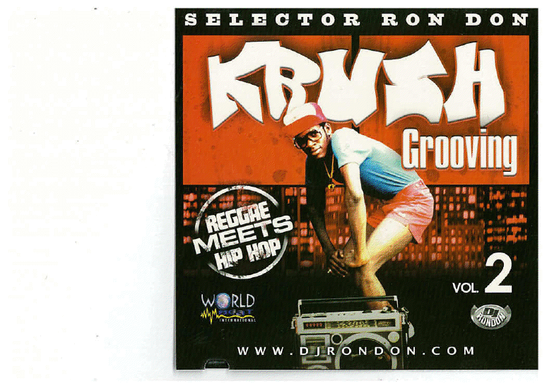 KRUSH GROOVING VOL. 2 (REGGAE MEETS HIP HOP) DWLN ONLY