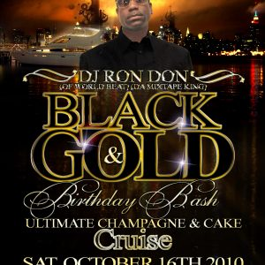 DJ RON DON BLACK & GOLD 2K10 DANCEHALL MIX CD (DWLN ONLY)