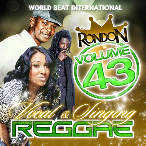 VOCAL/SINGING REGGAE VOL. 43 CD