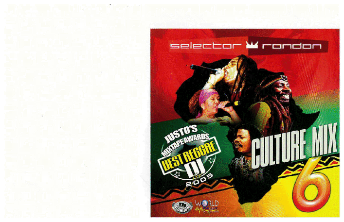 CULTURE MIX REGGAE VOL. 6 (DOWNLOAD ONLY)