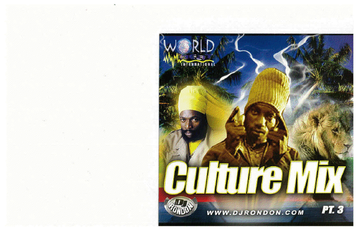 CULTURE MIX REGGAE VOL. 3  (DOWNLOAD ONLY)