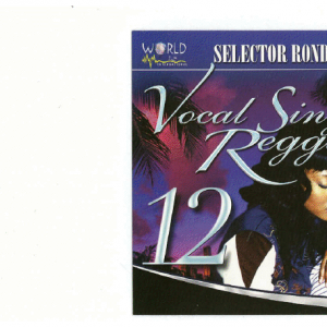VOCAL/SINGING REGGAE VOL. 12 (DWLN ONLY)