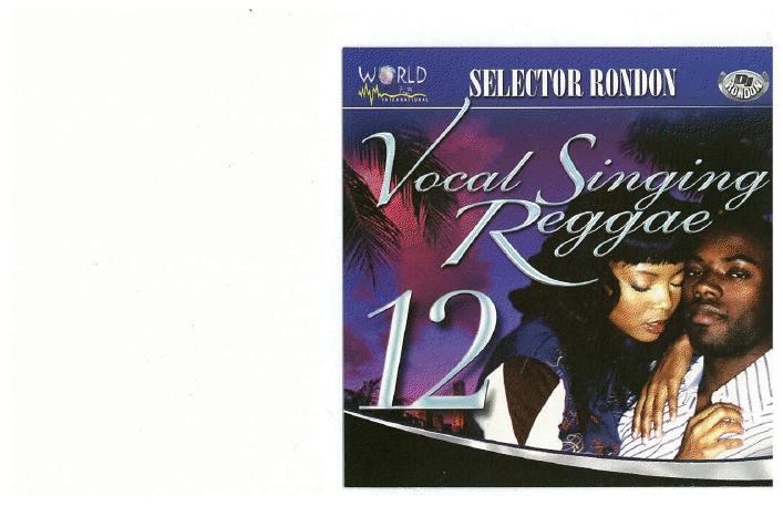 VOCAL/SINGING REGGAE VOL. 12 (DWLN ONLY)