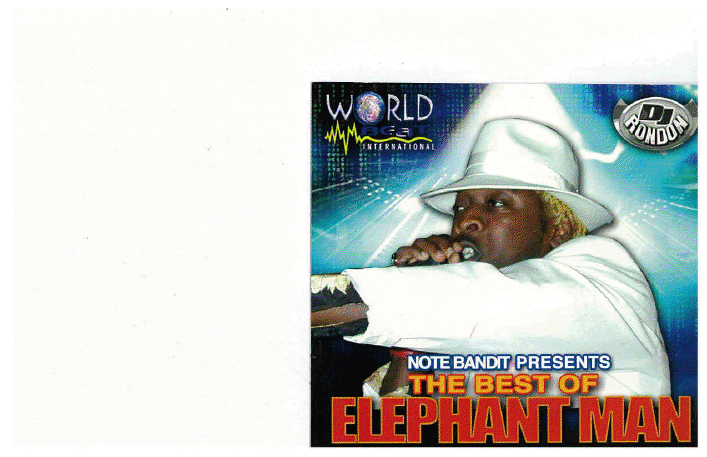 BEST OF ELEPHANT MAN CD (DOWNLOAD ONLY)