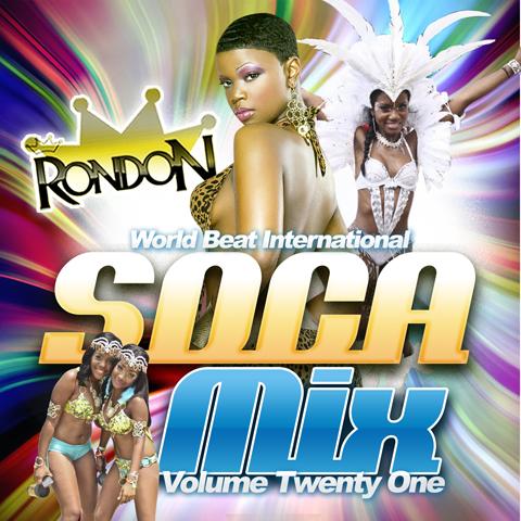 SOCA MIX VOL.21 CD ONLY