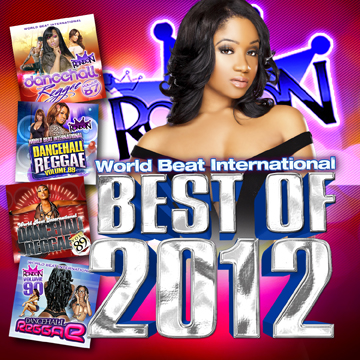 BEST OF 2012 PT.1 DANCEHALL REGGAE CD ONLY!!