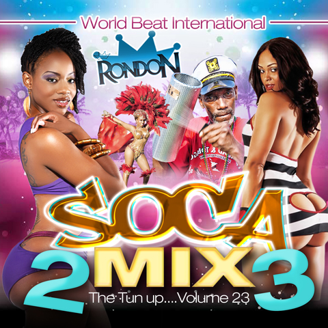 SOCA MIX VOL.23 (CD ONLY)