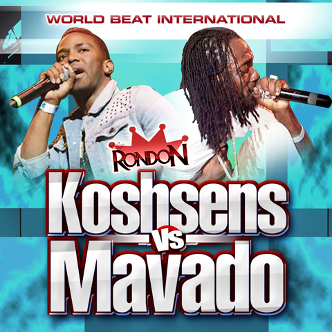 KONSHENS VS. MAVADO MIX (CD ONLY)