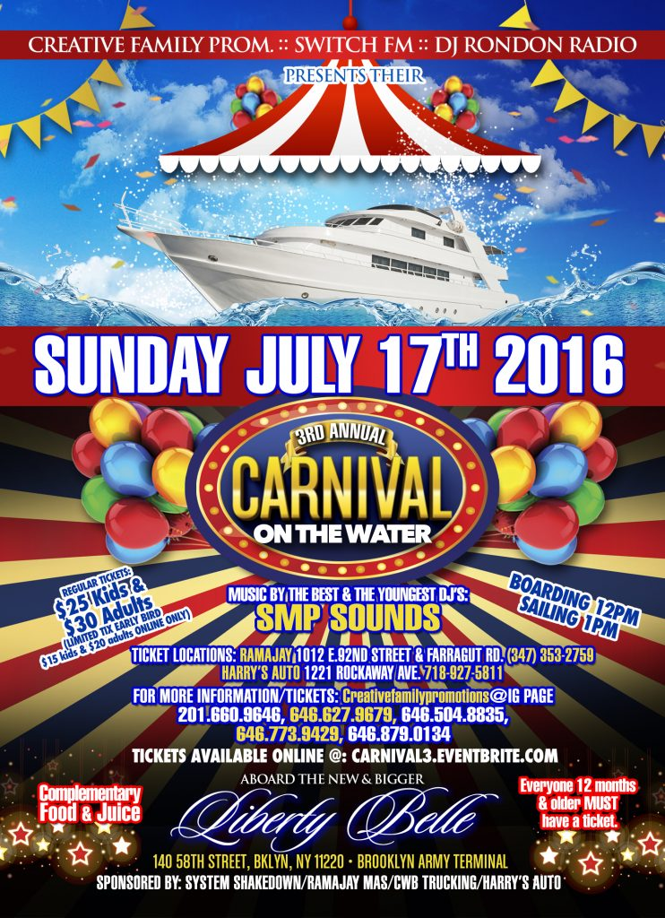 Final Carnival Boatride