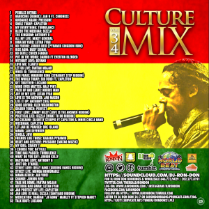 Ron Norris Ford >> CULTURE MIX REGGAE VOL. 34 (DOWNLOAD ONLY)