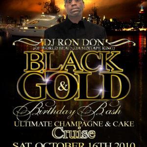 DJ RON DON BLACK & GOLD 2K10 SOCA MIX CD (DWLN ONLY)
